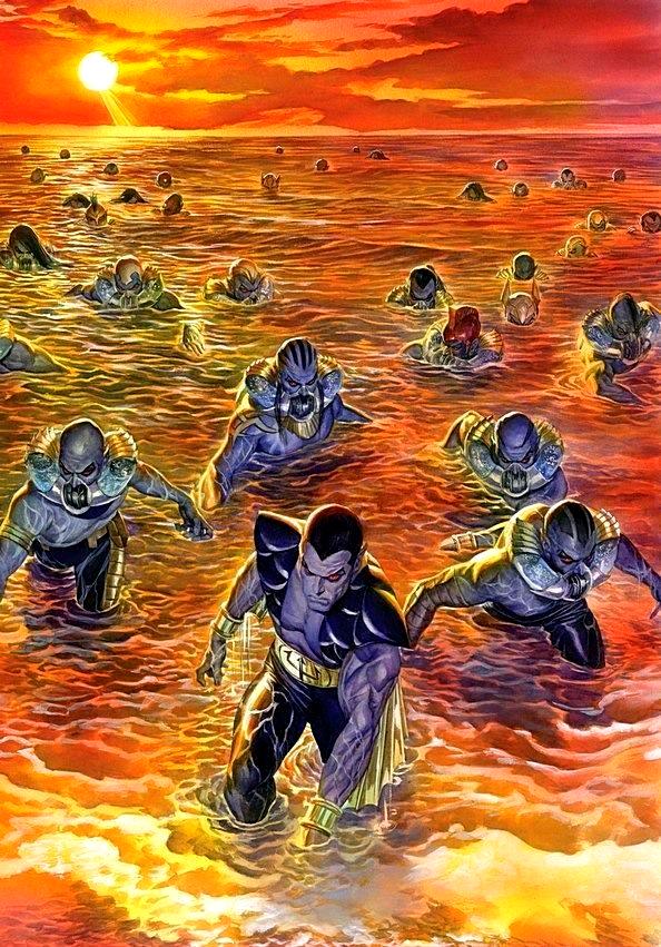 Classic Marvel Forever - MSH Classic RPG | Atlanteans